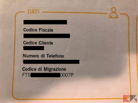 come trovare il codice di una come trovare codice migrazione fastweb