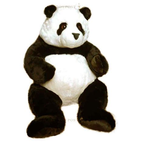 toypost panda deluxe soft toy giant size by keel toys
