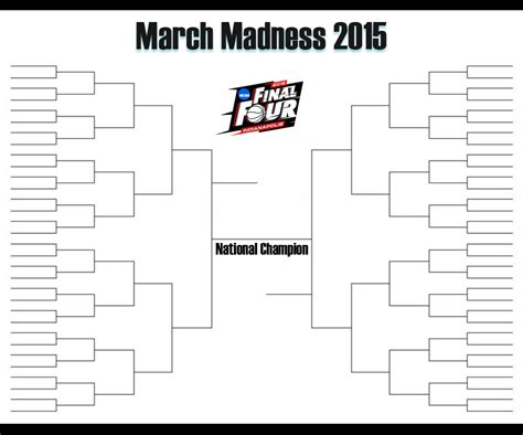 2015 Ncaa Basketball March Madness Bracket | march madness 2015 bracket 2015 march madness bracket