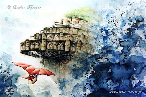 hayao miyazaki biography studio ghibli studio ghibli inspired watercolor paintings by louise