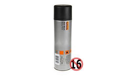 halfords halfords enamel spray paint matt white 300ml halfords matt black spray 300ml