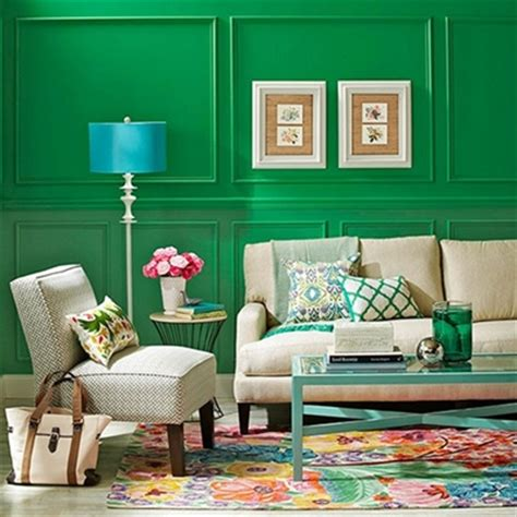walls painted blue and green home design inside kelly green wall paint jerry enos painting