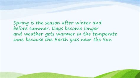 Why Summer Is My Favorite Season Of The Year Essay by My Favourite Season Is