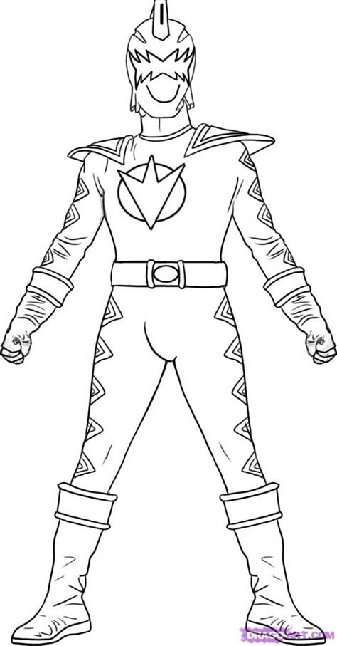 Free printable PowerRangers coloring pages