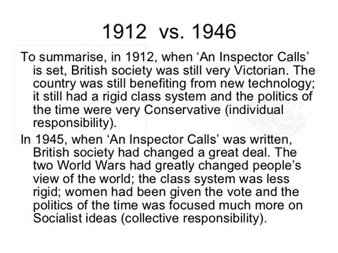 gender theme in an inspector calls image result for 1912 britain an inspector calls t