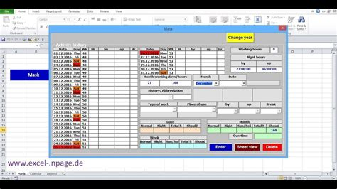 1 Create Time Tracking Application In Excel Itself Create Excel Workbook With Macros Youtube How To Create An App Template