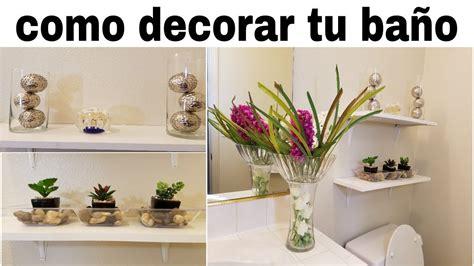 como decorar un bano elegante ideas para decorar tu ba 209 o elegante con poco dinero