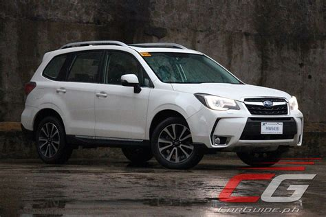 subaru philippines review 2016 subaru forester xt philippine car news car