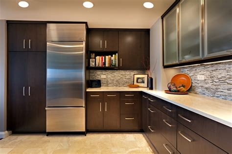 Modern Condo Kitchen Design Condo Kitchen Contemporary Kitchen Other Metro By Hermitage Kitchen Design Gallery