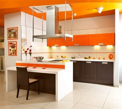 Orange Kitchen Ideas by Vibrant Orange Kitchen Decorating Ideas Interior Design