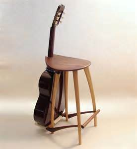 instrument accommodating stools guitar stand