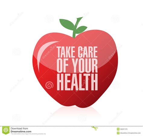 the care of the take care of your health illustration design royalty free stock image image 36267476