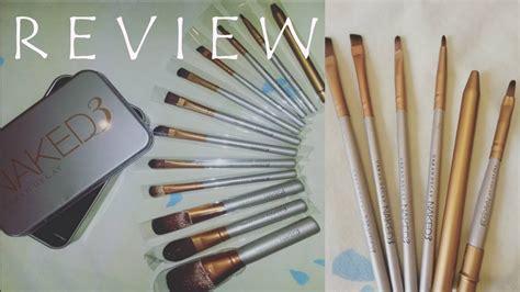 Brush Decay review decay makeup brush tin set