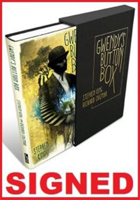 gwendys button box gwendys button box signed slipcased hc 59 95 stephen king catalog