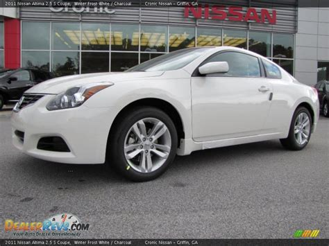 nissan altima coupe 2011 2011 nissan altima 2 5 s coupe winter white