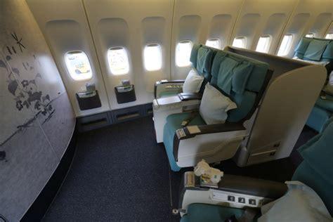 review korean air class b747 400 seoul incheon to