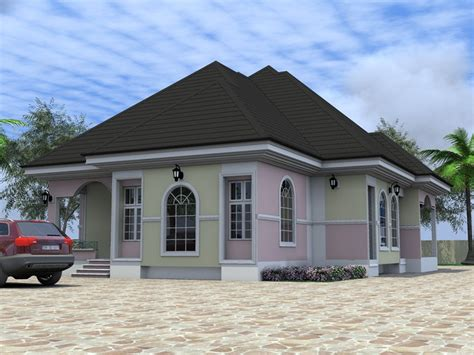 4 Bedroom Bungalow Designs Residential Homes And Designs 4 Bedroom Bungalow