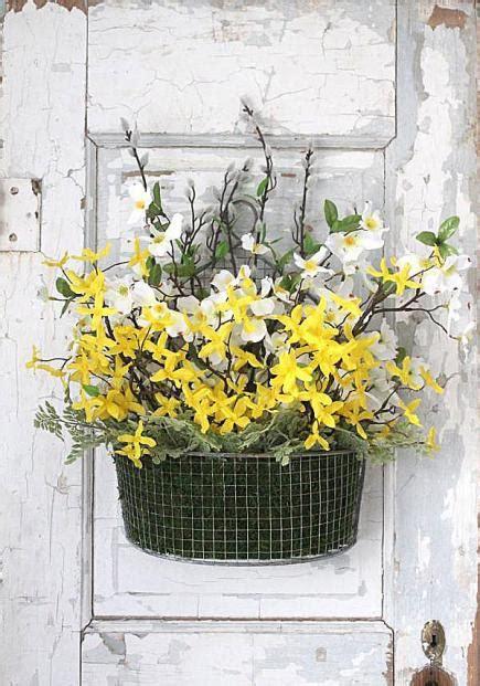welcoming spring door decorations midwest living