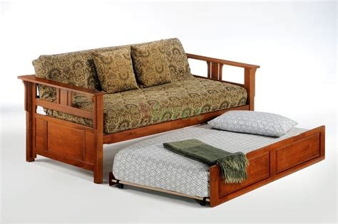 futon with trundle night and day teddy roosevelt daybed with trundle guest