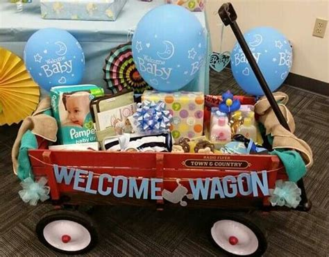 Baby Shower Welcome Wagon by Welcome Wagon Diy Baby Shower Gift Basket Ideas For Boys