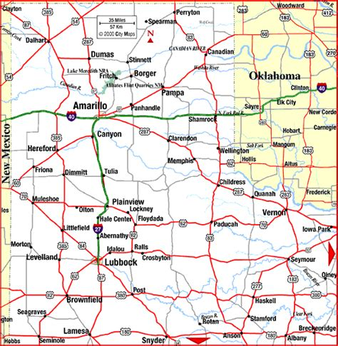 panhandle texas map texas map panhandle