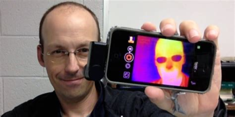 seek thermal infrared camera  iphone  android