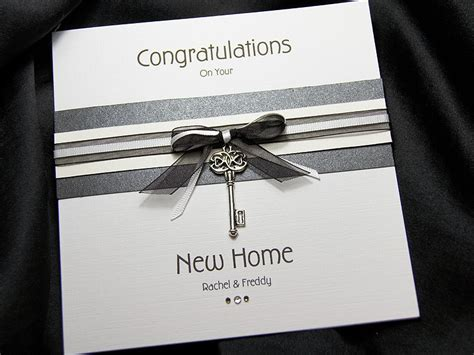 Handmade New Home Cards - kensington handmade new home card