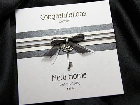 Handmade Cards For New Home - kensington handmade new home card