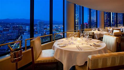 In Room Dining Los Angeles La Prime The Westin Bonaventure Los Angeles Hotel And Suites