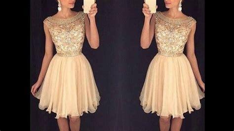 vestido corto elegante vestidos cortos elegantes super hermosos youtube