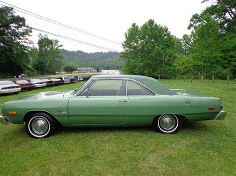 buy used 1976 dodge dart green in ashland kentucky