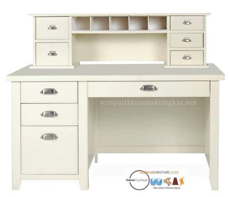 Meja Belajar Olympic Putih meja belajar minimalis putih dengan laci toko furniture