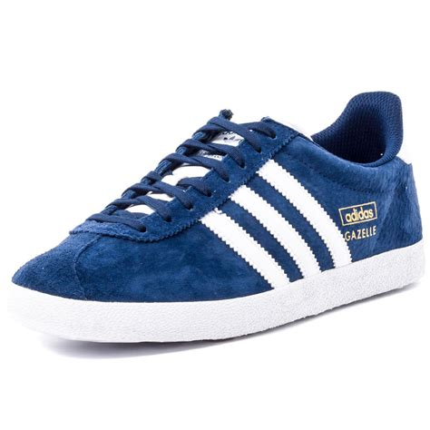 new adidas shoes adidas gazelle og mens suede indigo trainers new shoes all
