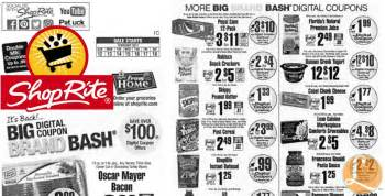 shoprite printable shopping list shoprite preview ad for the week of 2 12 17living rich