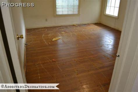 Wood Floors In Bedrooms Or Carpet by Goodbye Green Carpet Hello Original Hardwood Floors