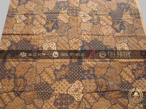 Batik Kesik Soga jual bahan baju batik motif sekarjagad klasik soga genes thebatik co id