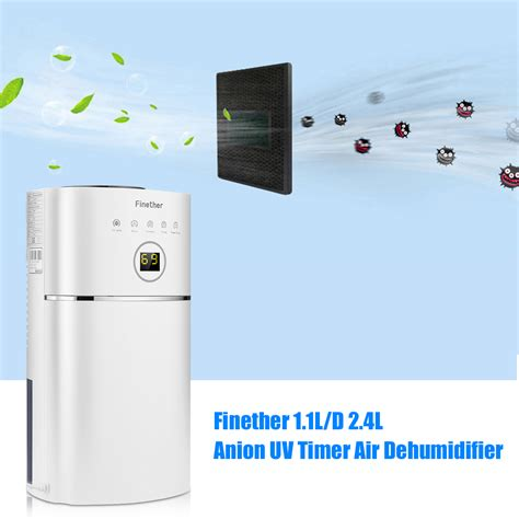 quiet dehumidifier for bedroom portable dehumidifier quiet dryer uv air filtration
