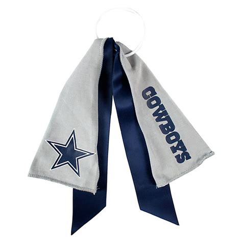 dallas cowboys fan gear dallas cowboys ponytail holder fan gear tailgating
