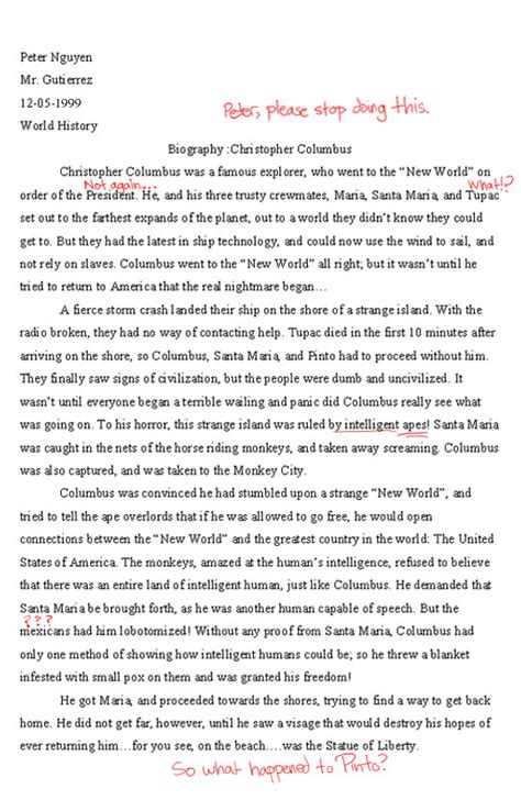 christopher columbus biography essay free christopher columbus biography picture ebaum s world