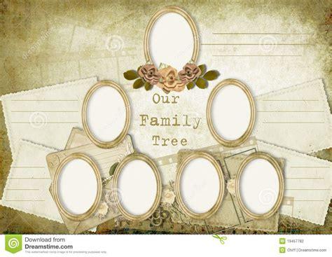 Vintage Album Family Tree Stock Illustration Illustration Of Genealogy 19457782 Vintage Family Frames Tree Stock Image Image 32018791