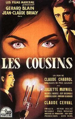 claude chabrol les cousins misfortunes of imaginary beings les cousins claude