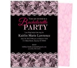 bachelorette invitation templates theruntime