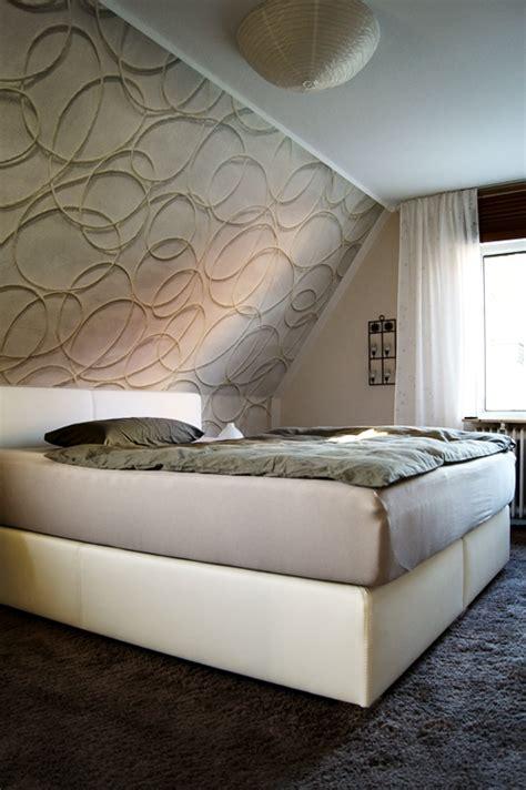 tapeten ideen schlafzimmer schräge fim works wohnen viel zu viel allem