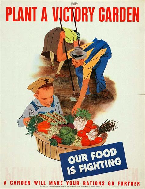 Victory Garden West by War Food Administration Victory Garden Posters