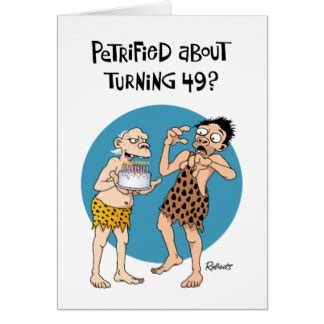 49th Birthday Card Template by His 49th Birthday Cards