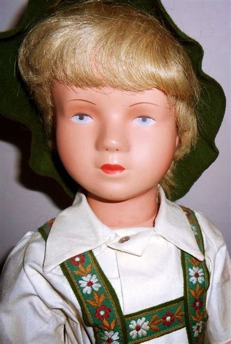 Blume Hair Original From Germany lederhosen boy doll and human hair wigs on