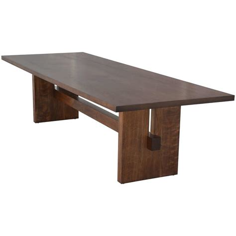 black walnut table for sale black walnut trestle table for sale at 1stdibs