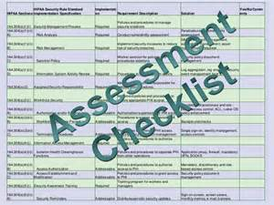 network security assessment template hipaa hitech security assessment