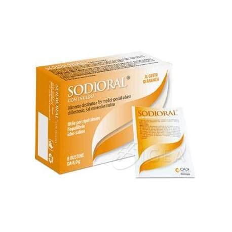 alimenti contro diarrea sodioral con inulina integratore contro la diarrea