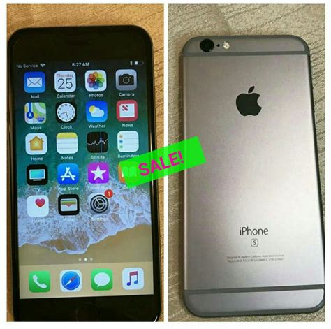 iphone 6s 32g for sale in mandeville manchester phones